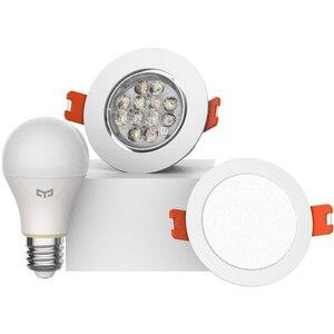 Image 5 - Xiao mi mi jia yeelight بلوتوث شبكة نسخة مصباح إضاءة ذكي والنازل ، الأضواء تعمل مع بوابة yeelight إلى التطبيق المنزلي mi