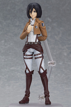 Lis Japan Anime Attack On Titan Figma 203 Mikasa Ackerman 6″ PVC Action Figure Model Doll Toys Anime Figure SA206