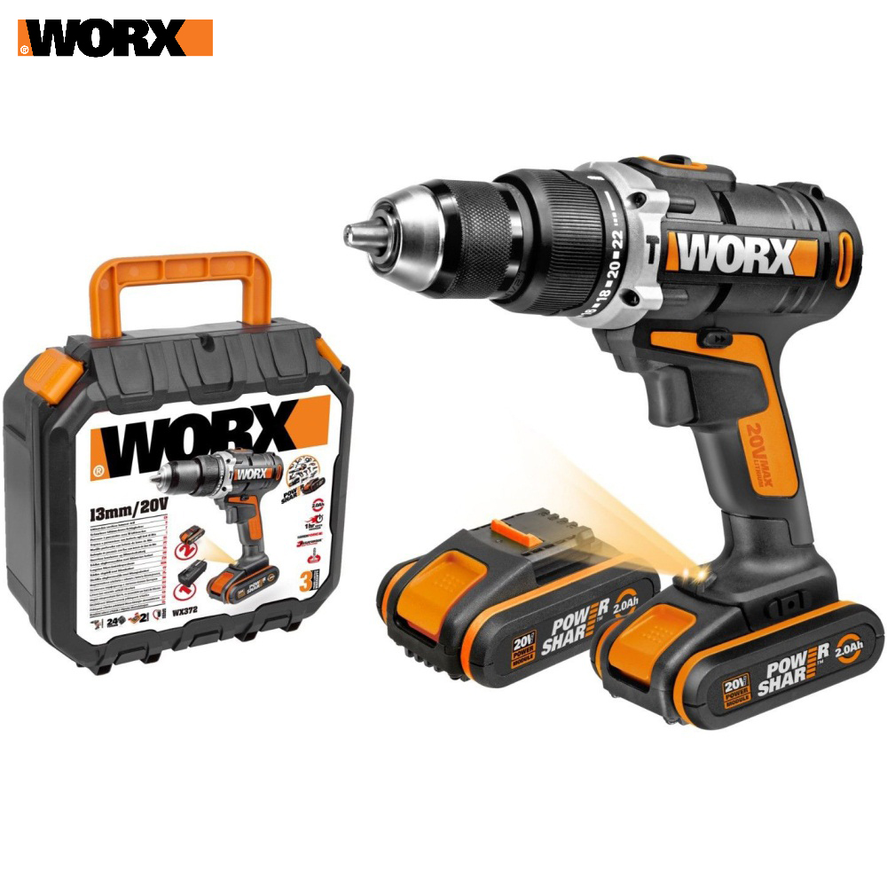 Electric Screwdriver WORX WX372 Power tools Screwdrivers Drill rechargeable
