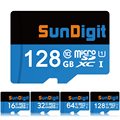 SunDigit Class10 Micro SD Memory Card 16G 32G 64G 128GB MicroSD Cards SDHC SDXC UHS-I 32GB 64GB C10 UHS TF Trans Flash Card