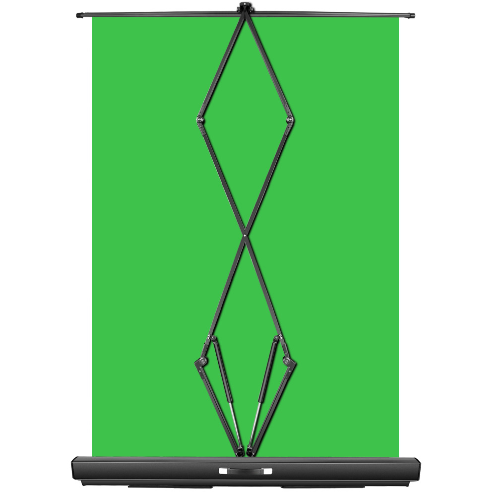 Green Screen for Streaming PRO - 5'x6 5' Collapsible Chroma Key Backdrop  with Auto-Locking Frame and Super-Fast Setup