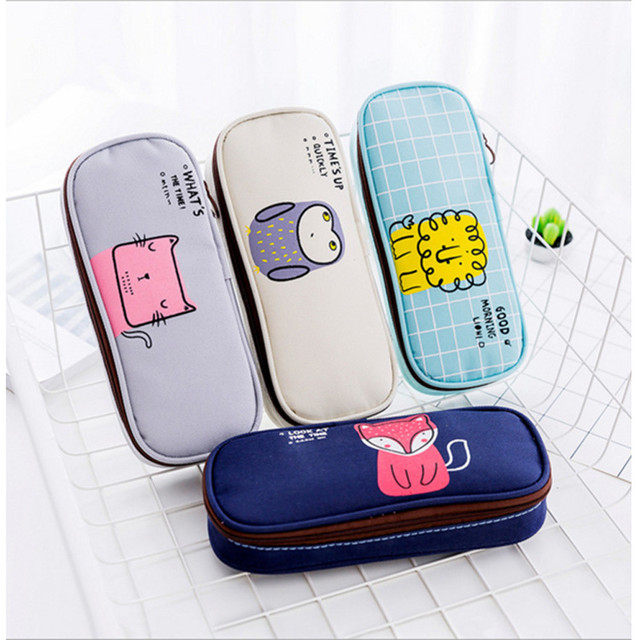 kids best gift school pencil case storage bag coin purse cosmetic