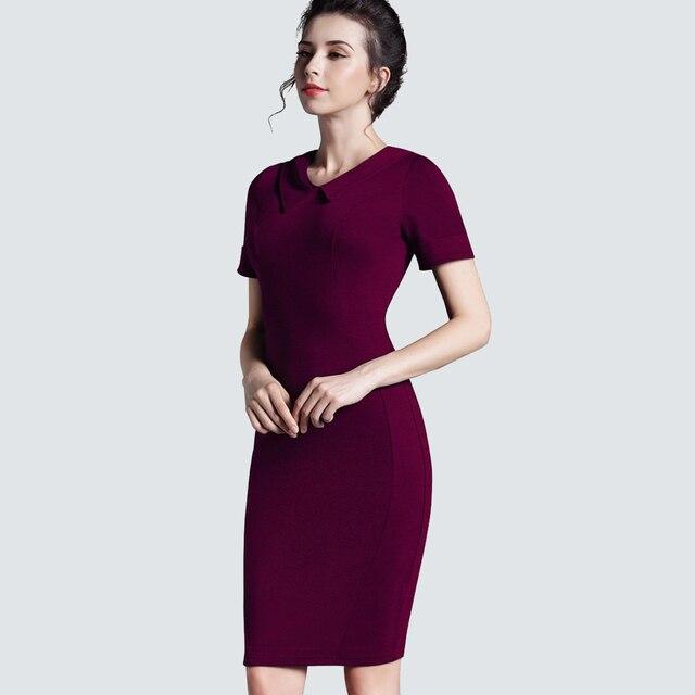 8bce10783 Venta caliente vestido de verano de la vendimia cuello de la envoltura de  bodycon azul vino