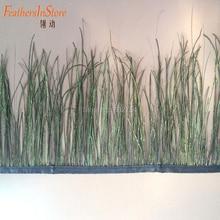 2 метра красивое перо павлина обрезана ткань боковая лента DIY Швейные украшения для одежды, аксессуары