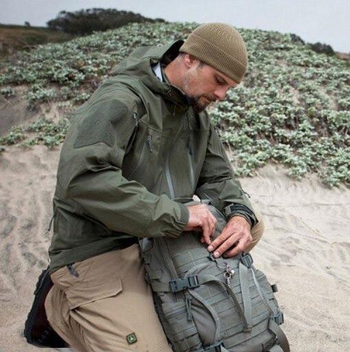 Haute qualité coquille dure sport militaire veste étanche veste tactique événement imperméable coupe-vent TAD randonnée veste