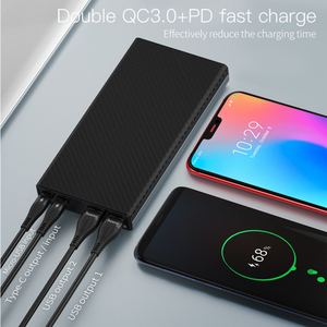 Image 3 - HOCO 30000mAh Power bank 18W USB Type C External Batteries QC3.0 PD Two way Fast Charging Powerbank LED Display Mobile Charger