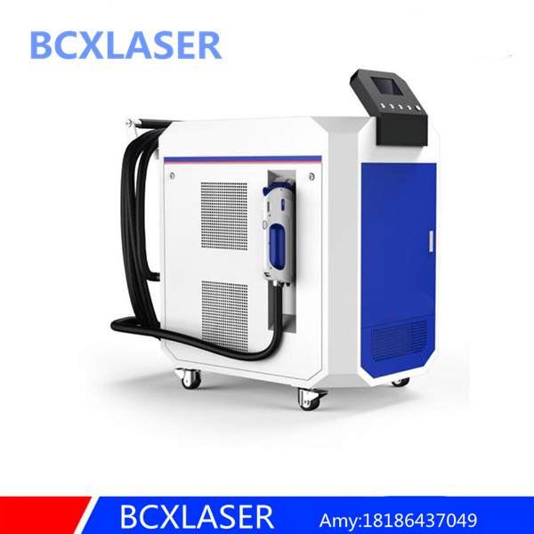 100w high quality laser cleaning machine for rust removal