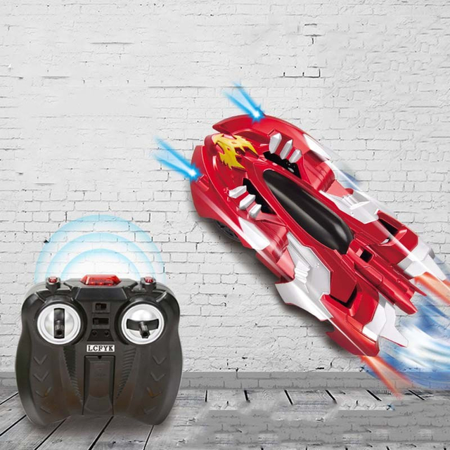 Remote Control Racing Car Climb Wall Racing Car Cool Auto Stable Stunt  In Stock Rc