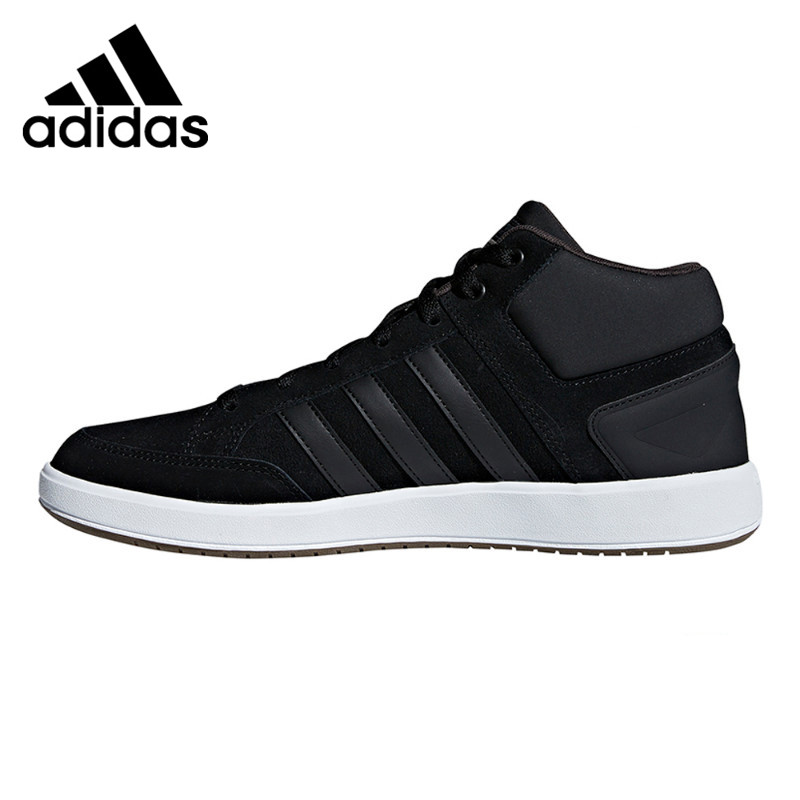 Original New Arrival 2018 Adidas CF ALL COURT MID Men's Hight Tennis Shoes Sneakers