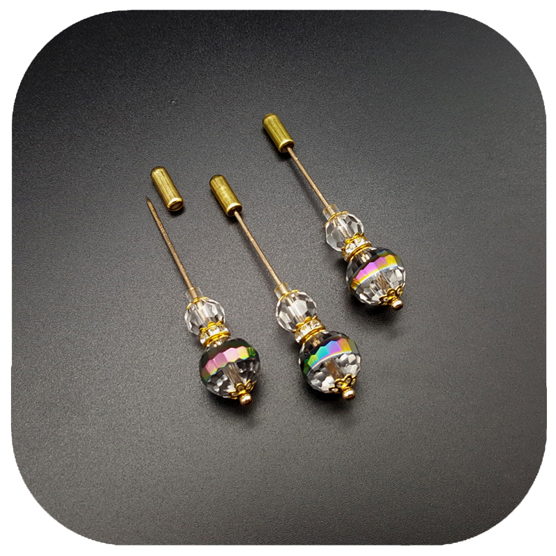 New Arrival Shiny Crystal Beads Pin Lapel Pin & Hijab - Κοσμήματα μόδας - Φωτογραφία 4