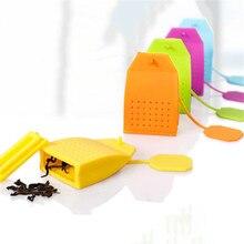 Safe FDA Grade Silicone Tea Infuser Handbag Shape Loose Leaf Black Tea Strainer Herbal Spice Filter Brewing Tools