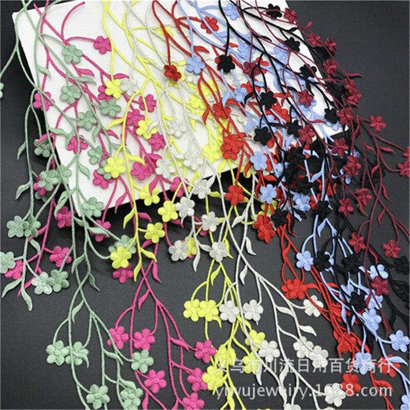 1 шт. 47 см красивое свадебное платье с горячей фиксацией, Цветочная вышивка, железные кружевные нашивки-Аппликации, отделка цветов, сделай са...