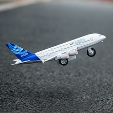 Plane toys Vehicle Children gift Aircraft Model Alloy Anti Fall Boy birthday Aircraft 3 Year Fighter Plane Airbus A380