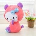 1 шт. 38 см/48 см прекрасный большой клубника Hello Kitty плюшевые игрушки, детские игрушки Hello Kitty куклы, девушки Рождественские подарки