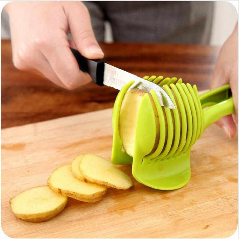 Patata cortadora de herramienta de corte Shreadders limón de corte de pan Clip fruta cortador herramientas de la cocina accesorios de cocina