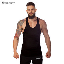 Maxmessy Cotton Vest Basketball Prime Bodybuilding Health Males Tank Prime Sportswear Gymnasium Operating Undershirt T Shirts MC080