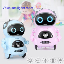 Multifunctional Electric Voice Smart Mini Pocket Robot Early Educational Interaction Tale Robot NSV775(China)