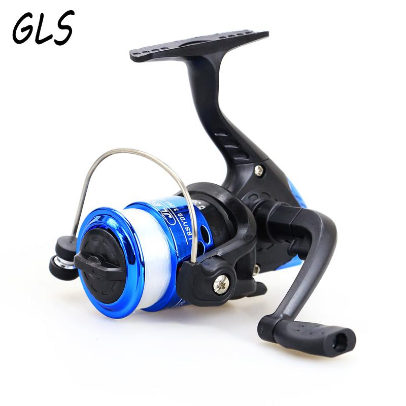 2017 new fishing wheel rotating fishing reel 200 small fishing wheel left and right swivel arm. Gift fishing line