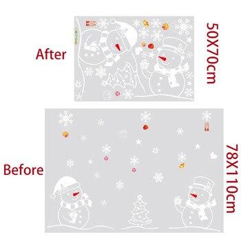 Window Sticker Christmas