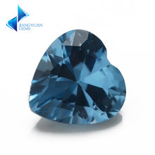 Размеры 3x3mm ~ 10x10 мм 120 # принты blue heart Форма шпинель