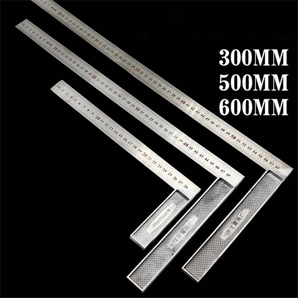 Новые металлические Сталь инженеров попробуйте квадрата дерево измерительный инструмент правый угол правителя 90 градусов измерительных п...