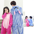 Women Kigurumi Unicorn Pajamas sets Flannel Hoodie Pajamas Stitch onesies for Adult Children Men Onesies Sleepwear Winter figmen