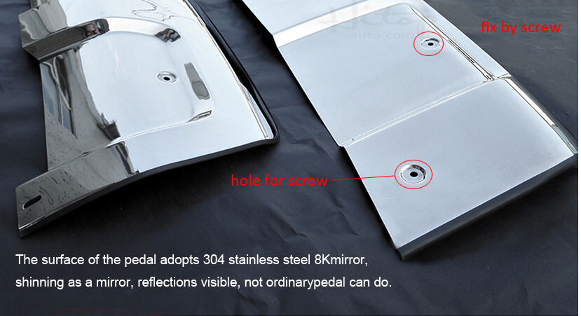 vordere u. hintere Stoßschwellenabdeckung / Gleitplatte für Range - Autoteile - Foto 3