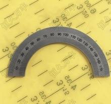 Diameter:90mm inner hole:60mm thickness1mm Half circle dial 180 degree circle Angle disc стоимость