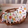 Bebé de alta calidad de doble capas de algodón baberos de personaje de dibujos animados Animal bebé baberos bandana Baba baberos