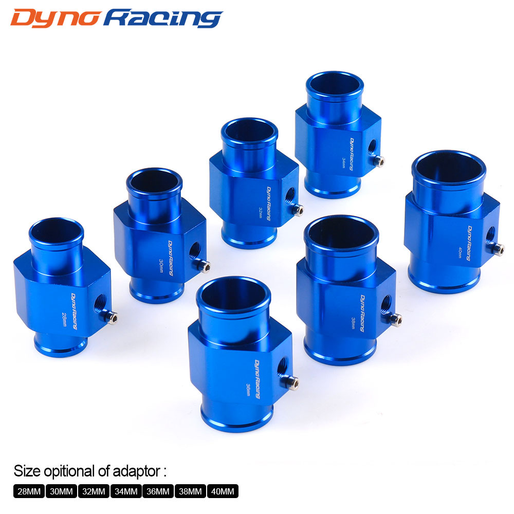 Dynoracing 60MM Car Water Temperature Gauge 20-120 Celsius With Water Temp  Joint Pipe Sensor Adapter 1/8NPT