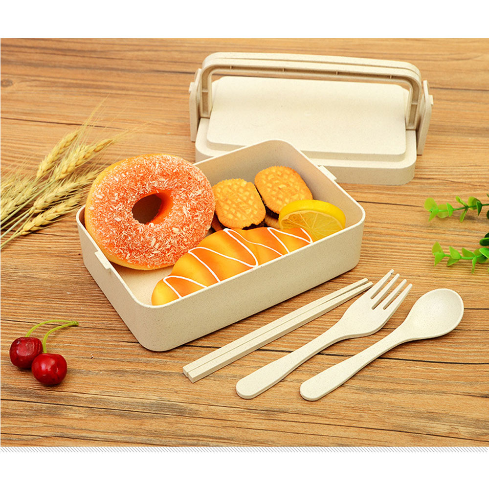 Insulated Bento Lunch Box Thermal Containers With Compartments Microwavable Cutlery Lunchbox Container Thermos For Food Storage in Lunch Boxes from Home Garden