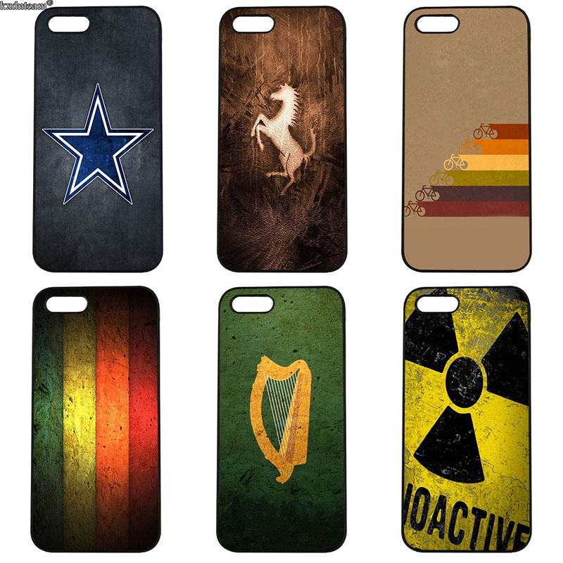 Cell Phone Cases Vintage Image Graffiti Art Picture for iphone 8 7 6 6S Plus X 5S 5C 5 SE 4 4S iPod Touch 4 5 6 Shell Hard Cover