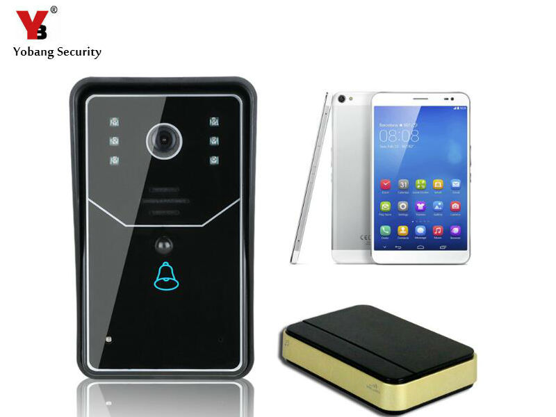 yobang security wifi video door phone doorbell video. Black Bedroom Furniture Sets. Home Design Ideas