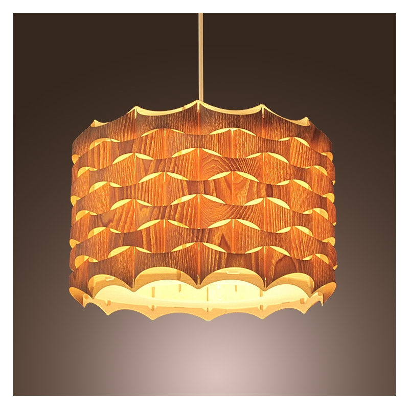 Novelty Indoor Wood Hand-weaving pendant lights dining room kitchen light lamp e27 110v/ 220v for decor luminaria