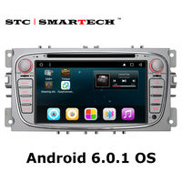 SMARTECH 2 Din Android 6 0 1 Car DVD Player GPS Navigation For Ford Mondeo Focus