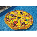 Male & Female Pizza floating bed inflatable floating row adult water thickened cushion export quality PVC 180 * 150cm