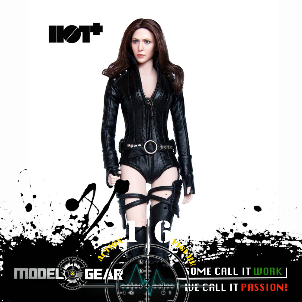 1/6 Scale Action Figure HotPlus HP032 Female Agent Custom Suit Set Suitable for 12'' Model Toy 1 6 soldier action figure the dark zone agent renegad model accessories full set figures