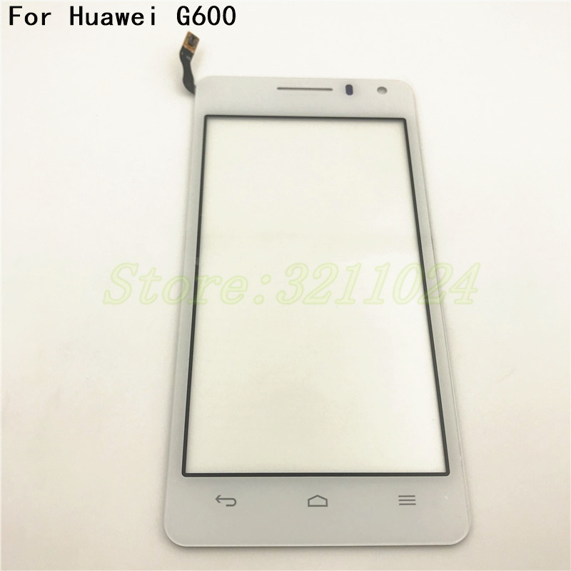 4.5 inches For Huawei G600 Honor 2 U9508 G600 U8950D Touch Screen Digitizer Sensor Front Glass Lens Panel