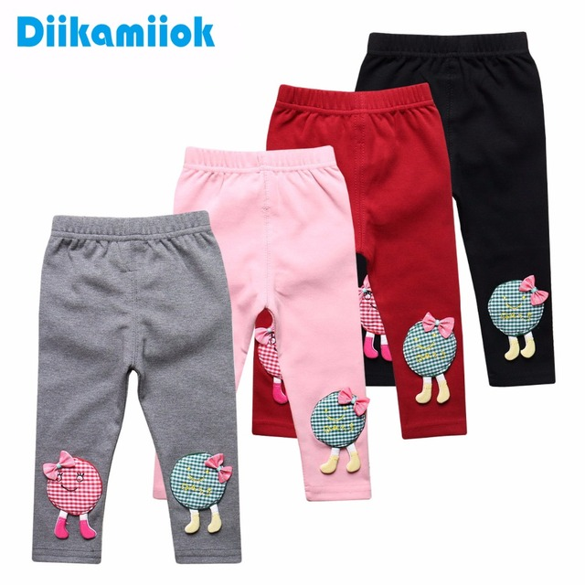 c1b70d537 Sale 6-24 Month Children Clothes Toddler Baby Girls Leggings Slim Trousers  For Girl Pant Spring Autumn Kids Pants 6 Color T0612