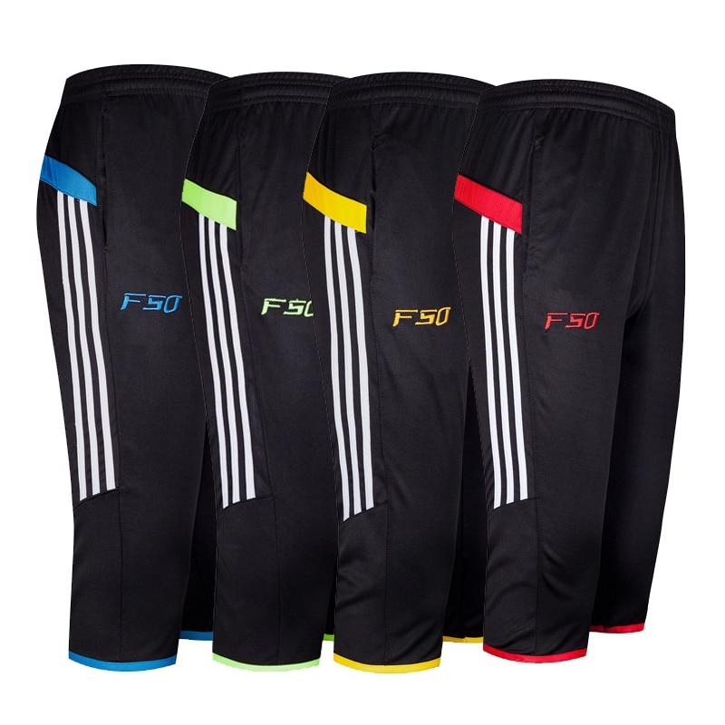 Men's Casual Pants 2019 Summer Thin Section Small Feet Sweatpants Harlan Men's 3/4 Football Pants