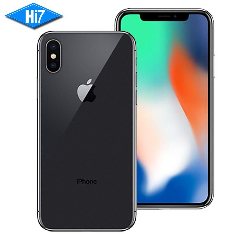 Nuevo Original Apple iphone X 64 GB/256 GB ROM 3 GB RAM Face ID 12MP 5,8 pulgadas 2716 mAh Hexa Core iOS 4G LTE desbloqueo inteligente teléfono móvil