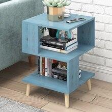 Скандинавские креативные современные деревянные тумбочки, журнальный диван, прикроватный столик, тумбочка, шкаф для спальни, домашняя мебель