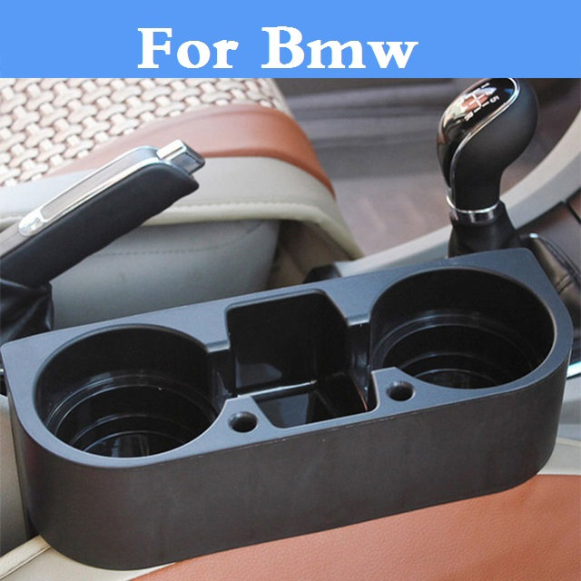 Car Seat Seam Wedge Cup Box Holder Organizer Car Styling For Bmw E36 E46 E60 E70 E40 E90 F30 F10 1 3 5 7 Series