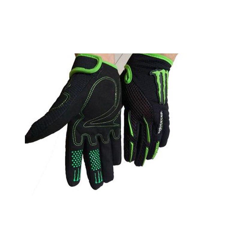 Prix pour 2016 Long Doigt Gant de Cyclisme Gel Tactile Écran Montagne De Bicyclette De Vélo gants pour Homme Femme VTT BMX DH Off Road Motocross Gants