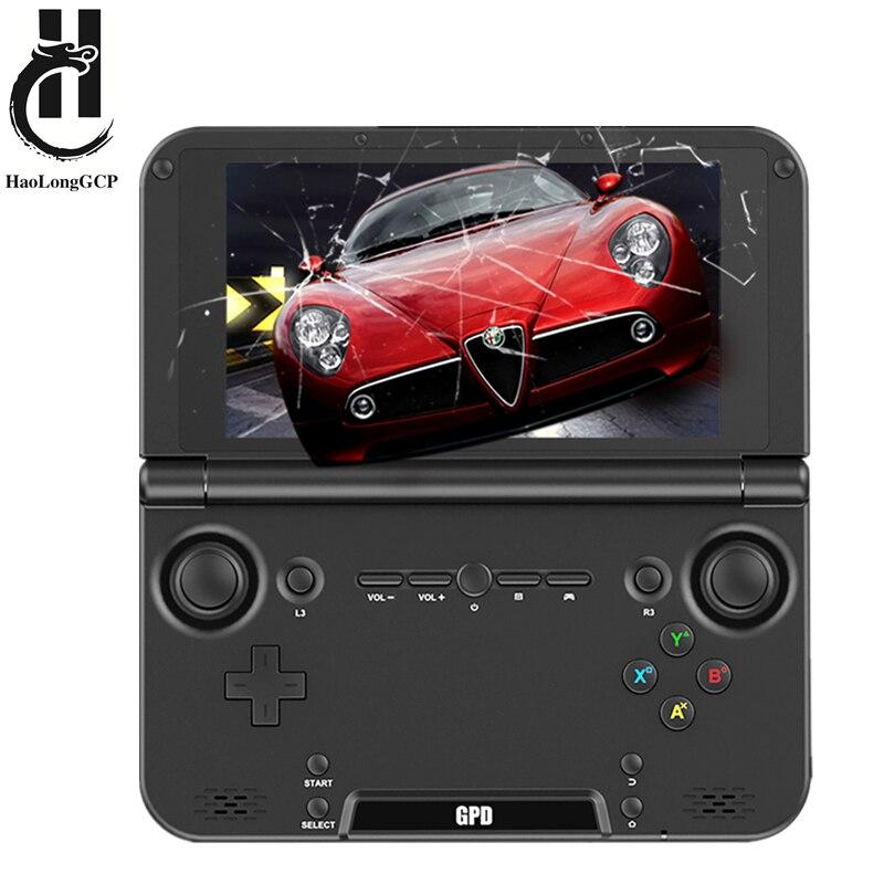 Actualización GPD XD PLUS 5 pulgadas Android 7,0 Gamepad Tablet 4 GB/32 GB MTK8176 hexa Core 2,1 GHz manejado consola de juegos para PSP para N64 PS