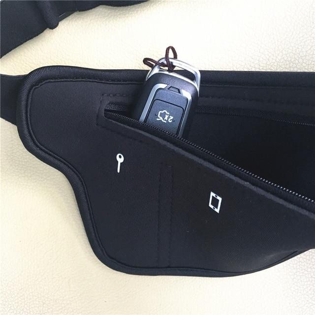 TEMENA Men Women Running Waist Belt Bag Phone Holder Jogging Belly Fanny Packs Gym Fitness Bags Sport Running Accessories 4