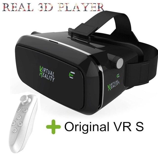 """Virtual Reality 3D VR Glasses Goggle Cardboard VR BOX for 4.7-6"""" Smartphone with Bluetooth Remote Vs SHINECON Bobovr Z4 mini"""