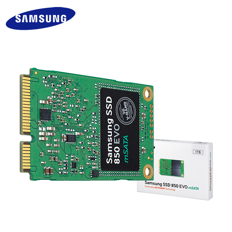 Samsung SSD 850 EVO mSATA SATA III 250GB 500GB 1T Internal Solid State Drive HD Hard High Speed for Laptop PC Computer Desktop original samsung 850 evo 500gb solid state drive ssd hard disk 2 5 inch sata3