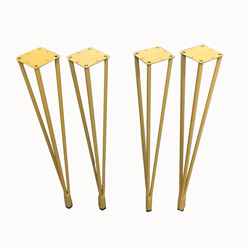 4pcs Jambes De Meuble Hairpin Metal Furniture Table Legs Solid Iron Laptop Desk DIY Furniture Coffee Table Chair Leg