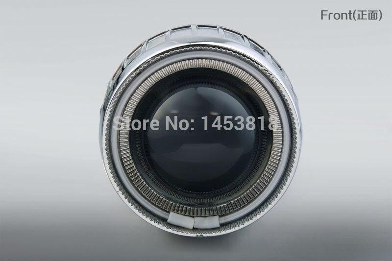 CIRCULAIRE 2 GO 35 w 2.5 pouces H1 H4 H7 Xénon caché kit de lentille de projecteur 4300/6000 k Blanc Bleu Rouge CCFL D'oeil D'ange + 2 pièces 35 W AC Ballast Mince